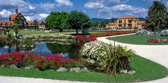 Government Garden at Rotorua Museum
